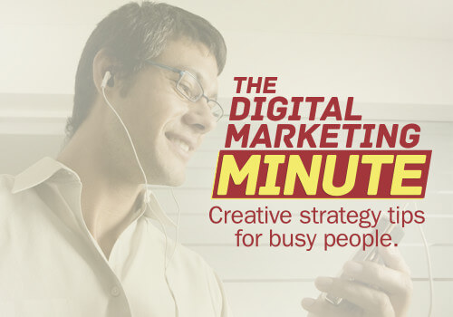 The Digital Marketing Minute